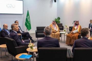 Mauricio Macri se reunió con el príncipe heredero de Arabia Saudita