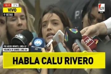 """Darthés no se presentó a audiencia de conciliación con Calu Rivero: """"Siento que es un día en que la mujer ganó"""""""