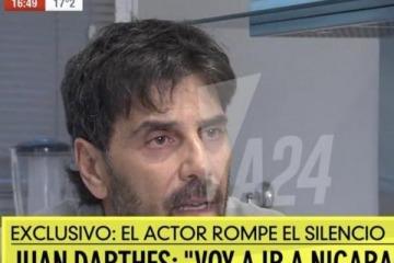 Repudiables declaraciones: Juan Darthés culpó a Thelma Fardín