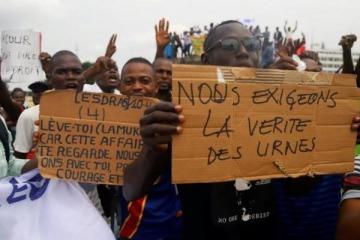 Sin recuento de votos y denuncias de fraude terminó la elección en Congo con las máquinas preparadas para Argentina