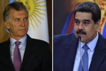 """""""Es el perrito faldero de Estados Unidos"""", la fuerte respuesta del gobierno de Maduro a Macri"""