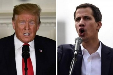 Venezuela: la polémica entrevista que Guaidó le dio Clarín con control directo de Trump