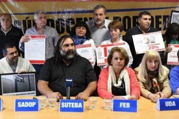 Los docentes bonaerenses intimaron por carta documento a María Eugenia Vidal