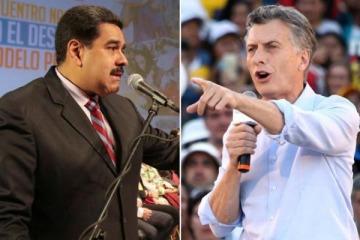 """Que Macri se ponga los patines"", la chicana de Maduro para pronosticar una derrota de Macri en octubre"