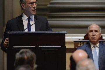"""A pesar de su sintonía, hasta Rosenkrantz contradijo a Macri y reconoció """"la crisis de legitimidad"""" de la justicia"""
