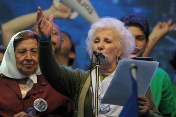 Estela de Carlotto repudió la creación de la oficina de Derechos Humanos para Policías