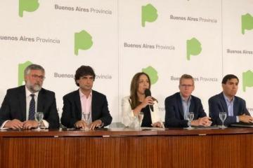 """Vidal presentó el """"plan V"""" económico para pelear por la reelección en Buenos Aires"""