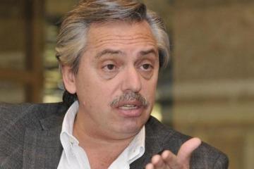 """Alberto Fernández: """"Todos estamos de acuerdo en que se debe pagar la deuda. Es un fantasma que alientan"""""""