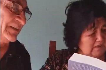 """El agradecimiento de Cristina al video de los abuelos que recibieron """"Sinceramente"""""""