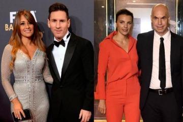 Messi contra Larreta: por qué la esposa del 10 de la Selección destrozó a la del jefe de Gobierno porteño