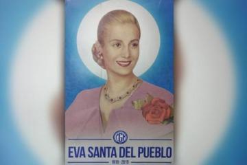 La CGT pidió la beatificación de Evita