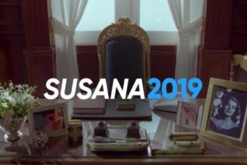 """""""Susana 2019"""": el curioso spot la diva que la traslada al sillón de Rivadavia y usa una frase kirchnerista"""