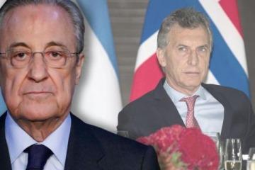 Escándalo: denuncia contra Macri por un negocio de USD 500 millones con el presidente del Real Madrid