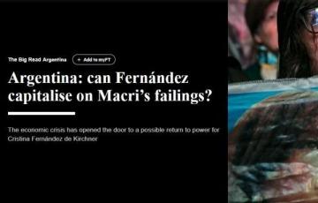 """Financial Times pregunta si Alberto Fernández podrá """"capitalizar los errores de Macri"""""""