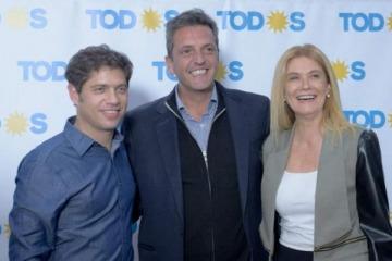Massa, Kicillof y Magario juntaron a todos los intendentes peronistas en búsqueda del triunfo bonaerense
