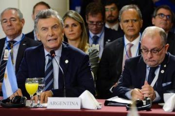 Mercosur: Macri atacó a Maduro y le hizo un insólito chiste a Bolsonaro