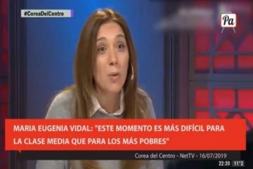 """Fake News Vidal: dijo que la pobreza es """"similar"""" a la de 2015 y que la desocupación creció porque hay más gente"""