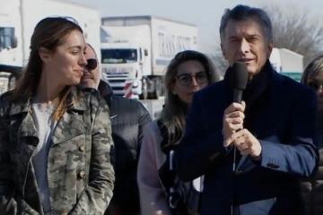 Macri y Vidal recorrieron una obra y violaron la veda electoral