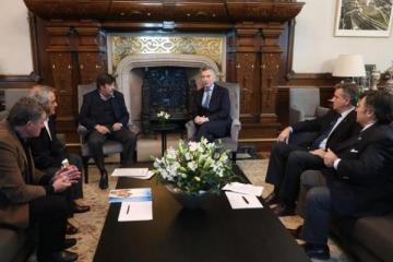 Buenas noticias para la Mesa de Enlace: Macri los recibió y les prometió que no habrá aumento en las retenciones