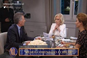 """Mirtha Legrand: """"Macri... un fracasado"""""""