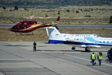 Lewis controla el boom de los vuelos operativos a Vaca Muerta