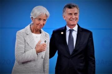 """El insólito mensaje de despedida de Lagarde, la ex FMI de la que Macri pidió a los argentinos """"enamorarse"""""""