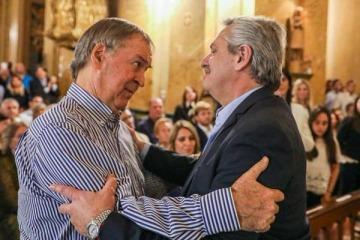 Alberto y Massa acomparon a la familia De la Sota a un año del fallecimiento del histórico dirigente cordobés