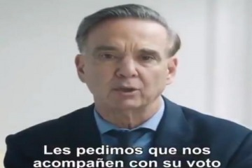 El spot en el que Pichetto habla de Boca Juniors y admite que Macri ajustó