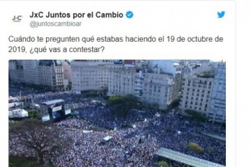 Macri y Juntos por el Cambio: un fin de semana de microclima militante y encuestas para su comunidad de Twitter