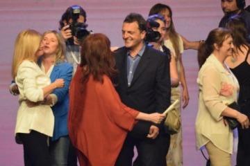 Cumbre a solas entre Cristina y Massa para empezar a definir la estrategia de Todos en el Congreso