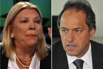 """La operación de Carrió contra Scioli que la justicia volteó por """"parcialidad manifiesta"""" de una jueza amarilla"""