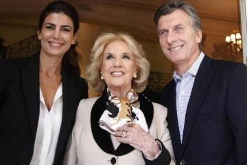 """Mirtha Legrand corrió por izquierda a Macri y dijo que en Bolivia hubo un """"golpe de Estado"""""""