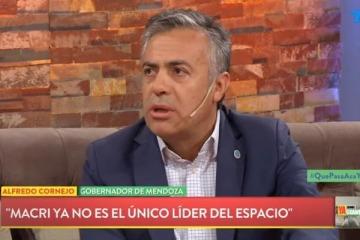 """Cornejo endureció su postura y le avisó a Macri que """"no hay un solo líder de la oposición"""""""