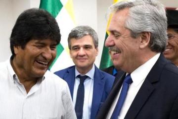 Los hijos de Evo Morales llegan a la Argentina tras gestiones de Alberto Fernández
