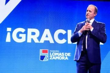Con la presencia de Arroyo y Katopodis, Insaurralde reasumió su mandato hasta 2023