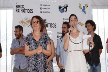 Festival político y cultural como vigilia a la asunción presidencial