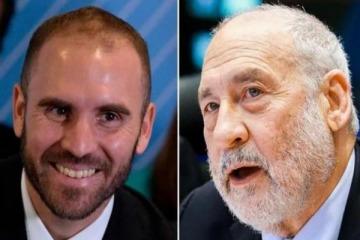 """""""Es uno de los mejores alumnos que he tenido"""": contundente elogio del Nobel Joseph Stiglitz sobre Martín Guzmán"""
