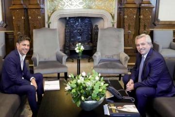 Cumbre Alberto-Kicillof: a 48 horas del tratamiento de la Ley Impositiva, el Presidente recibió al Gobernador