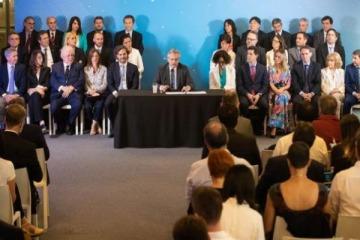 Cuándo y dónde será la primera reunión del Gabinete federal de Alberto
