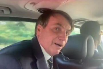 """Bolsonaro pidió que no lo """"agredan en redes"""" como """"el pueblo argentino a Macri"""" porque así """"volvieron los Kirchner"""""""