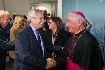 Qué le respondió Alberto al funcionario del Vaticano que le expresó el rechazo a la legalización del aborto