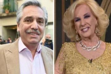 Alberto reveló si irá o no a almorzar con Mirtha Legrand
