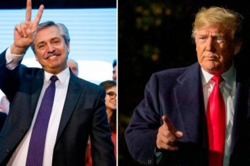 Trump prometió ayudar a Alberto con la deuda externa que le dejó Macri