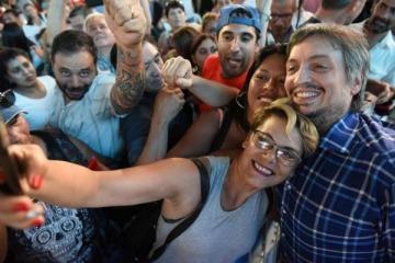 """Máximo Kirchner al FMI: """"Háganse cargo que financiaron la campaña de Macri"""""""
