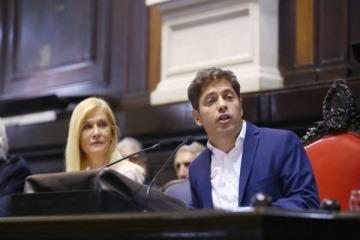 Apertura de sesiones: Kicillof reveló los números del ajuste de Vidal en educación, salud, vivienda y seguridad
