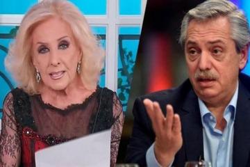 Mirtha Legrand contó que chateó con Alberto y reveló cuál fue la respuesta a la invitación a su programa