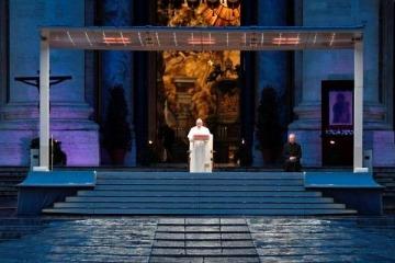 """El mensaje del Papa Francisco en medio de la pandemia: """"Nadie se salva solo"""""""