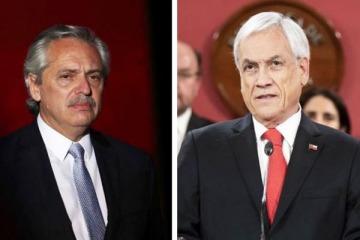 Alberto y Piñera hablaron por teléfono durante 45 minutos y bajaron la tensión entre Argentina y Chile