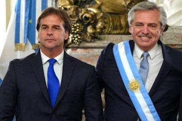 En medio de la tensión en el Mercosur, Alberto habló con el uruguayo Lacalle Pou sobre el coronavirus y la región