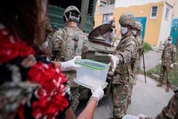 El papel de las fuerzas armadas durante la cuarentena